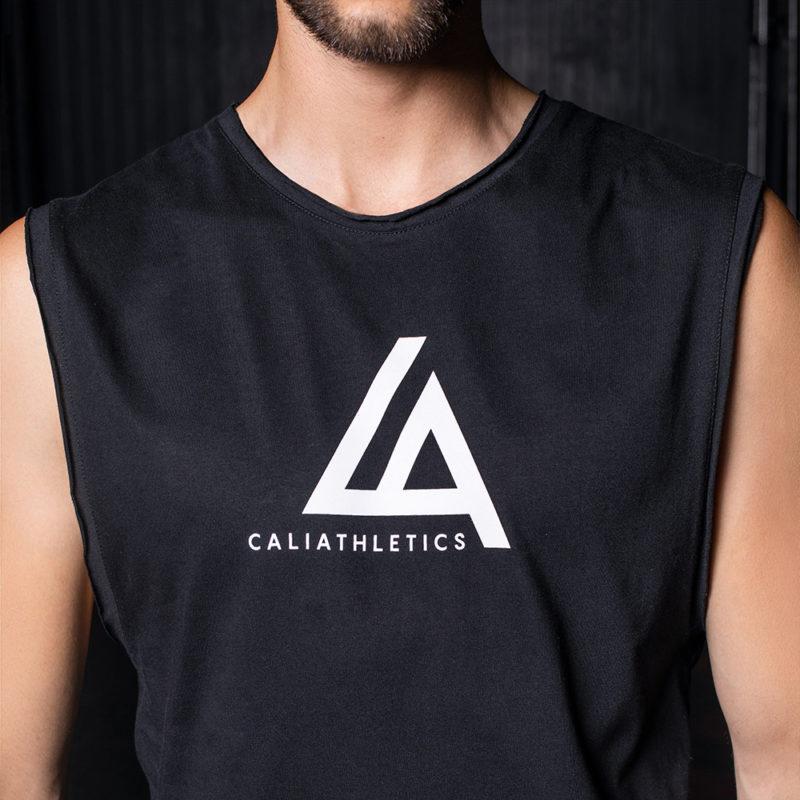 TANK TOP V CALIATHLETICS duże logo 2