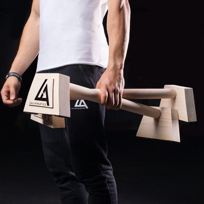 Paraletki drewniane duże 60 cm caliathletics