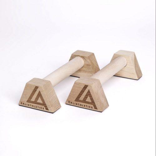 paraletki drewniane mini 30 cm caliathletics
