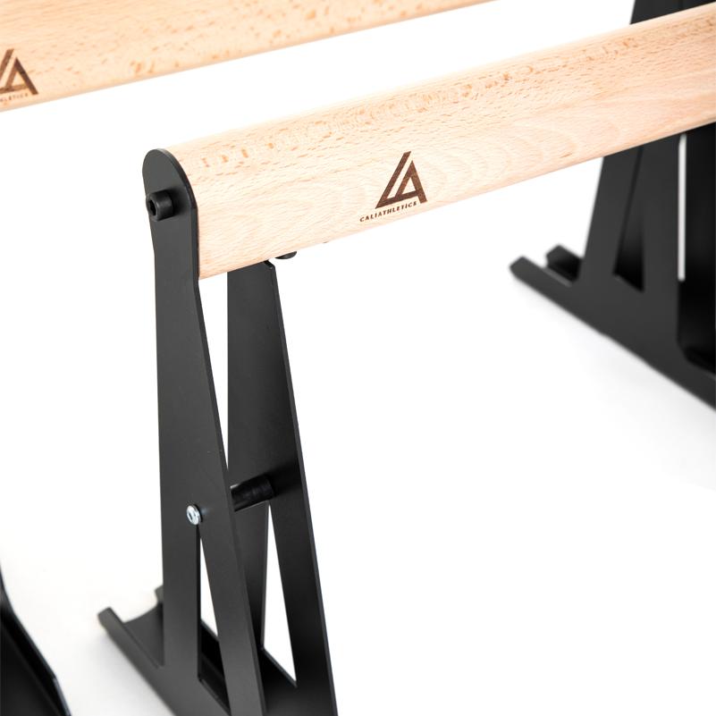 paraletki metalowo-drewniane niskie