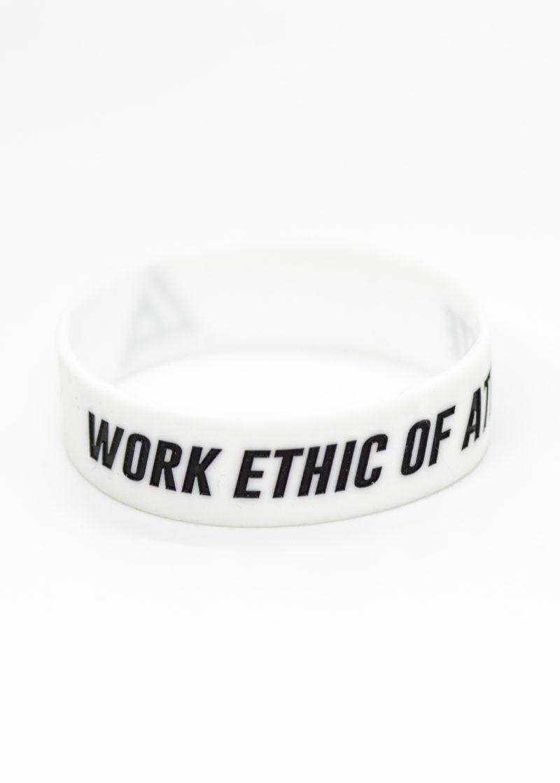 silikonowa opaska na rękę caliasthletics work ethic